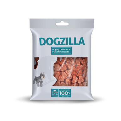 Snacks Dogzilla Puppy Mini Hearts 100 gr