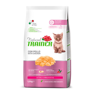Pienso para gatitos Natural Trainer Kitten 1.5 kg