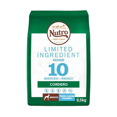 Nutro Limited Ingredient Cordero Razas grandes 9,5 kg