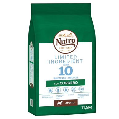 Nutro Limited Ingredient Diet razas medianas cordero