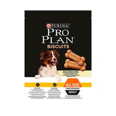 Galletas Pro Plan Perro Snack Light Control de peso 400 gr