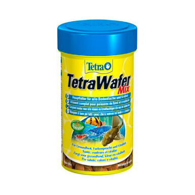 TetraWafer Mix para peces fitófagos y carnívoros