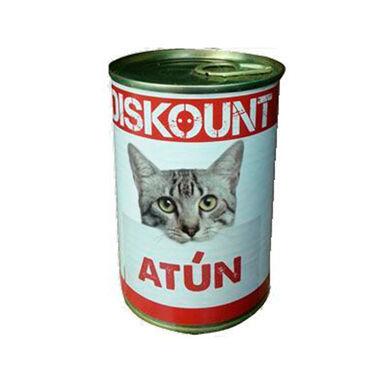 Pack 12 Latas Diskount para gatos 400 gr