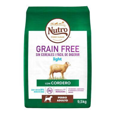 Nutro Grain Free Light Cordero 9,5 kg