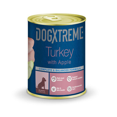 Dogxtreme lata comida húmeda para cachorro