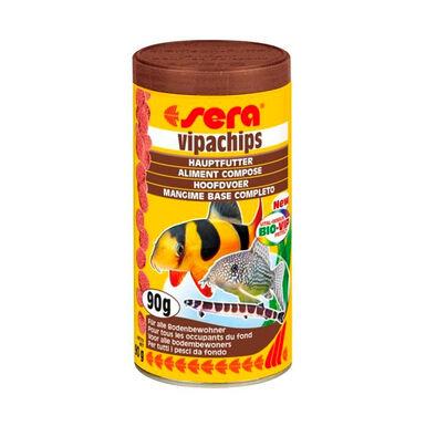Alimento en pastilla para el fondo Sera Vipachips