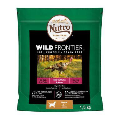 Nutro Wild Frontier pavo y pollo para perro Junior 1,5 kg