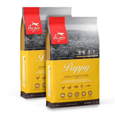 Orijen Puppy - 2x11 kg Pack Ahorro