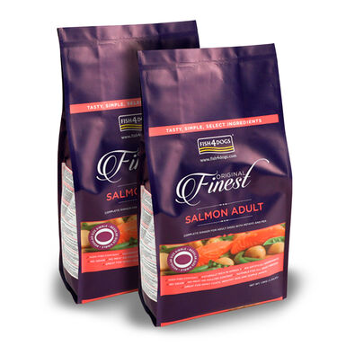 Finest Fish4Dogs Adult Salmón - 2x12 kg Pack Ahorro