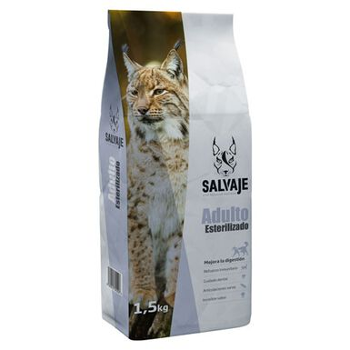 Salvaje Adulto Esterilizado pienso de gato