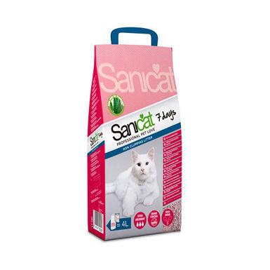 Sanicat Aloe Vera 7 Days arena para gatos