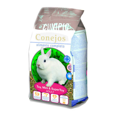 Cunipic Adult alimento para conejo Toy, Mini y SuperToy