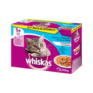 Whiskas selección de pescados Multipack