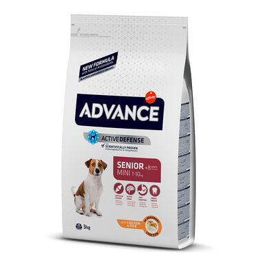 Affinity Advance Mini Senior +8 pollo y arroz