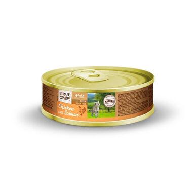 True Origins Pure Lata para gatitos Pollo y Salmón 85 gr
