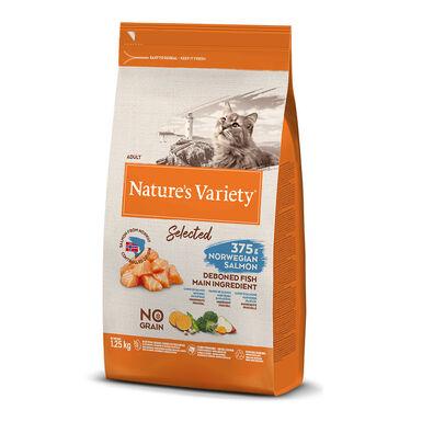 Nature's Variety Selected con salmón noruego para gato