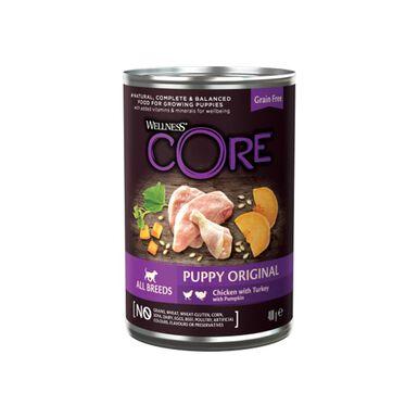 Lata Wellness Core para cachorro 400 gr