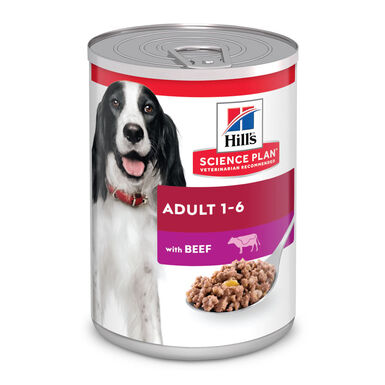 Hill's Adult Lata sabor ternera 370 gr