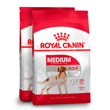 Royal Canin Medium Adult - 2 x 15 kg Pack Ahorro
