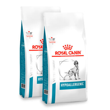 Royal Canin Veterinary Diet Hypoallergenic - 2x14 kg Pack Ahorro