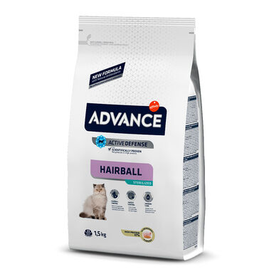 Affinity Advance Feline Sterilized Hairball pavo y cebada
