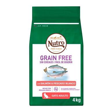 Nutro gato Grain Free adulto salmón
