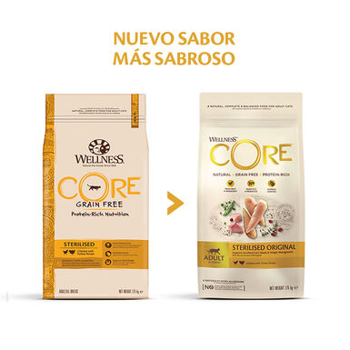 Wellness Core Feline Sterilised pollo y pavo