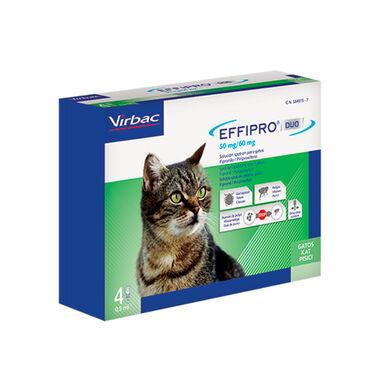 Antiparasitario externo Effipro Duo para gato