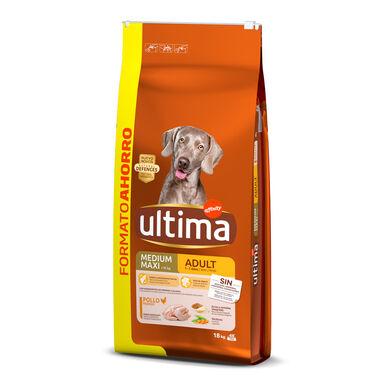 Affinity Ultima Medium / Maxi Pollo pienso para perros 18 kg