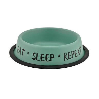 Comedero Nordic Bowl Eat Sleep Repeat de Outech