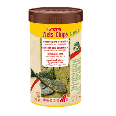 Sera Wels-chips alimento para peces