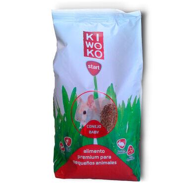 Alimento Premium para Conejo Baby Gama Kiwoko Start 950 gr