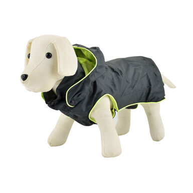 Impermeable para perros Outech Green Neon