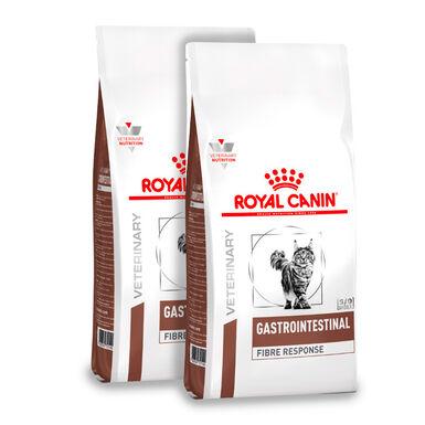 Royal Canin Feline Veterinary Fibre Response - 2 x 4 kg Pack Ahorro