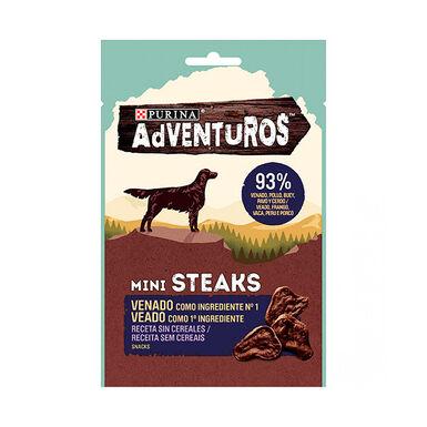 Adventuros Mini Steaks Venado 70 gr