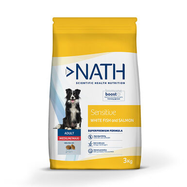 Pienso para perros Nath Adult Sensitive Grain Free Medium/Maxi