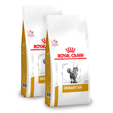 Royal Canin Feline Veterinary Diet Urinary S/O - 2x7 kg Pack Ahorro
