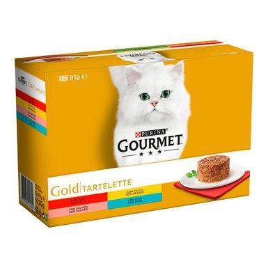 Pack Gourmet Gold Tartelette 12x85 gr
