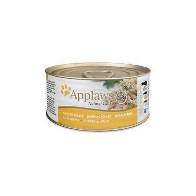 Applaws lata de comida húmeda con pechuga de pollo 156gr