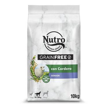 Nutro pienso para perros senior natural Grain Free con cordero