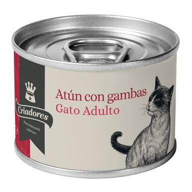 Criadores comida húmeda gatos natural