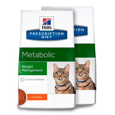 Hill's Feline Prescription Diet Metabolic - 2x4kg Pack Ahorro