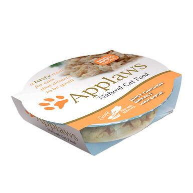 Pack 10 Tarrinas Applaws Tasty varios sabores en gelatina para gato 60 gr