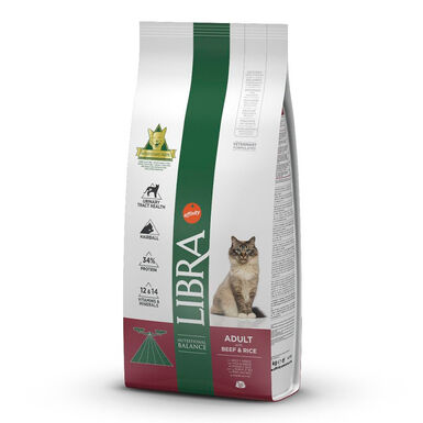 Libra Feline Adult Buey y Arroz 15 kg