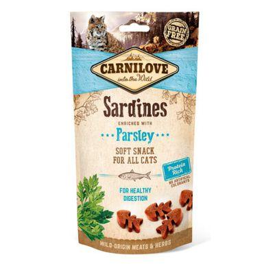 Carnilove Soft Snack Sardinas snack para gatos