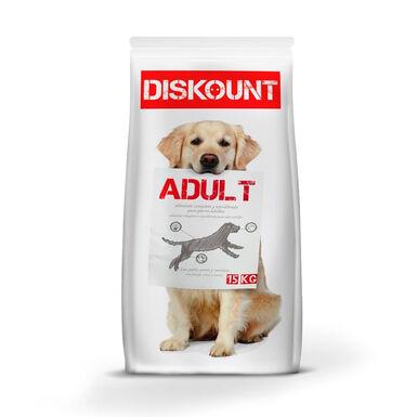 Pienso para perros Diskount 15 kg