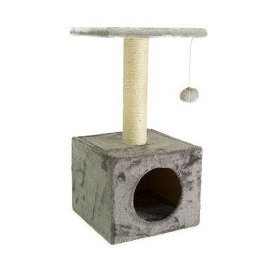 TK-Pet Ara casa rascador para gatos color gris