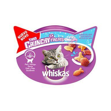 Snacks Whiskas Trío Crunchy para gato 60 gr