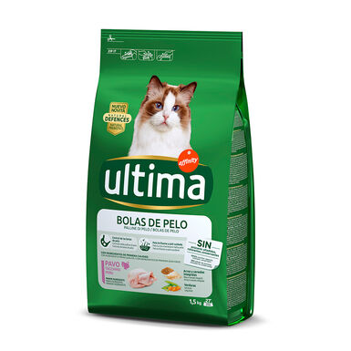 Affinity Ultima Feline Adult Hairball Control pavo y arroz 1,5 kg