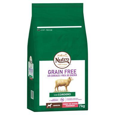 Nutro Grain Free Adulto mini cordero 7 kg